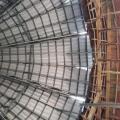 Estrutura galvanizada para garagem