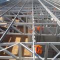 Estrutura galvanizada para telhado