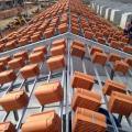 Estrutura galvanizada para telhado residencial