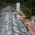 Estrutura metalica para cobertura de casas