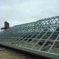 Estrutura metalica para telhado com telha sanduiche