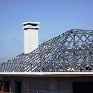 Cobertura metalica para casas