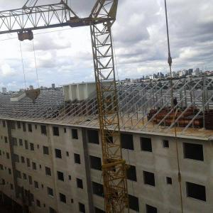 Estrutura metálica para apartamento