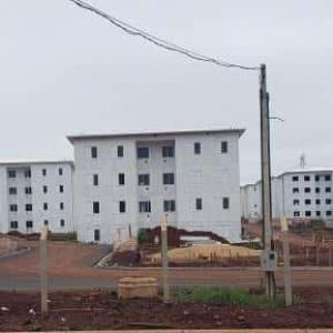 Estrutura metálica edificação