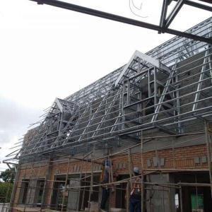 Estrutura metalica telha galvanizada