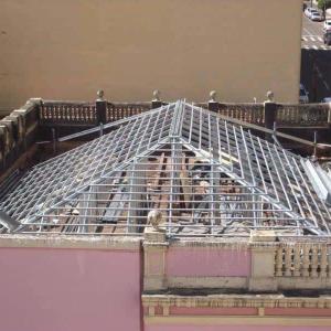 Estrutura metalica para telhado ponta grossa