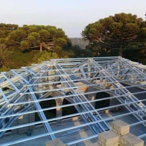 Telhados estrutura metalica galvanizada