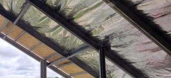 Cobertura metálica para terraço