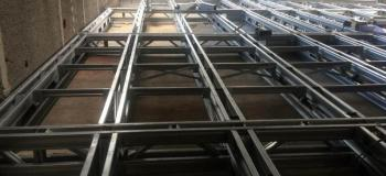 Estrutura metalica mezanino